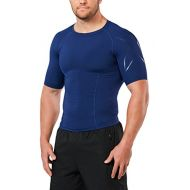 6b6904a3806 2XU Mens LKRM Short Sleeve Compression Top