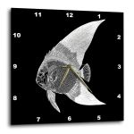 United States of America Us American State 15 by 15-Inch Wall Clock The Bear Flag White Red 3dRose Flag of California Republic DPP/_158295/_3