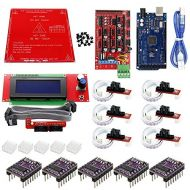 3D Printer - CNC 3D Printer Kit Mega 2560 R3+MK2B+RAMPS 1.4 Controller+2004 LCD Controller+6X Optical Switch Endstop+5X DRV8825 for Arduino