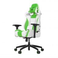 4GamerGear Vertagear S-Line SL4000 Racing Series Gaming Chair - WhiteGreen (Rev. 2)