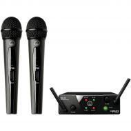 AKG},description:This kit pairs together the easy-to-use WMS40 Mini2 Vocal Wireless Microphone Set with the rugged D8000M dynamic vocal mic, for an outstanding perfomance that is i