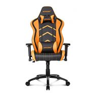 AKRacing Player Super-Premium Gaming Chair with High Backrest, Recliner, Swivel, Tilt, Rocker and Seat Height Adjustment Mechanisms with 5/10 warranty Orange