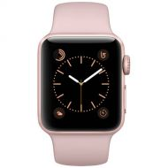 Refurbished Apple Watch Series 2 Rose Gold Case - Pink Sand Sport Band 38mm
