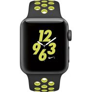 Adidas Apple - Apple Watch Nike+ 38mm Space Gray Aluminum Case BlackVolt Nike Sport Band - Space Gray AluminumModel: MP082LLA Smartwatch Smart for iPhone Nike PLUS