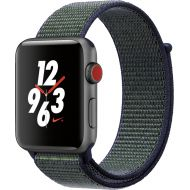 Bestbuy Apple - Apple Watch Nike+ Series 3 (GPS + Cellular) 42mm Space Gray Aluminum Case with Midnight Fog Nike Sport Loop - Space Gray Aluminum (AT&T)