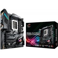 Asus ASUS ROG STRIX X399-E GAMING AMD Ryzen Threadripper TR4 DDR4 M.2 U.2 X399 EATX HEDT Motherboard with onboard 802.11AC WiFi, USB 3.1 Gen2, and AURA Sync RGB Lighting