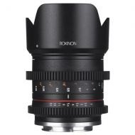 Adorama Rokinon 21mm T1.5 High Speed Cine Lens for Fuji X Mount CV21M-FX