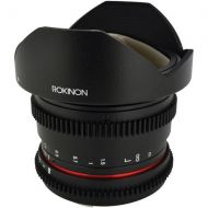 Adorama Rokinon 8mm T3.8 HD Fisheye Cine Lens for Sony E with Removeable Hood RKHD8MV-NEX