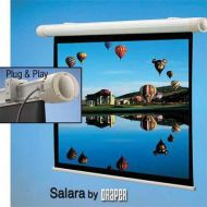 Adorama Draper Salara Plug & Play Electric Wall Mount Projection Screen, 69x92 136009