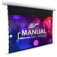 Elite Screens Manual Tab-Tension, 100 16:9 MT100XWH - Adorama