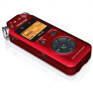 Adorama Tascam DR-05 Portable Handheld Digital Audio Recorder - Red DR-05 RED