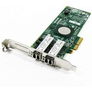 HP 82Q 8GB DUAL PORT PCI-E FC HBA - WITH HIGH PROFILE BRKT AJ764A-HP (Certified Refurbished)