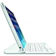 Amazon Renewed Logitech Ultrathin Magnetic Clip-On Keyboard Cover for iPad mini 3/mini 2/mini, Silver (Renewed)