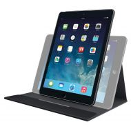 Amazon Renewed Logitech Turnaround Case with Rotating Frame and Multi-Angle Stand for iPad Air (939-000838) (Certified Refurbished)