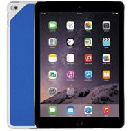 Amazon Renewed Apple iPad Air 2 9.7 Tablet - 64GB, WiFi, Space Gray - Bundle with Logitech Blue Hinge Flex Case (Renewed)