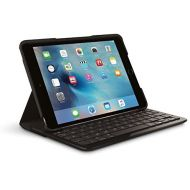 Amazon Renewed Logitech FOCUS Protective Case with Integrated Keyboard for iPad Mini 4, Black (Renewed)
