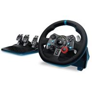 Logitech G920 Dual-motor Feedback Driving Force Racing Wheel with Responsive Pedals for Xbox One (Certified Refurbished)