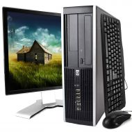 Amazon Renewed HP Desktop Computer, Core 2 Duo 3.0 GHz Processor, 4GB, 160GB, DVD, WiFi Adapter, Windows 10, 19in LCD Monitor Included (Brands may vary) (Renewed)