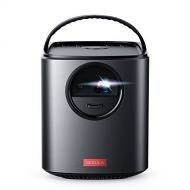 Nebula, by Anker, Mars II 300 ANSI lm Portable Projector with 720p DLP Picture, 10W Speakers, Android 7.1, 1-Second Autofocus, 30-150 Screen, 4-Hour Playtime, Broad Connectivity, a