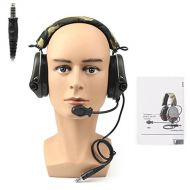 Areyourshop for MSA SORDIN Noise Reduction Airsoft Comtac Military Combat SWAT Tactical Headset