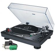 Audio-Technica Audio Technica AT-LP120-USB Professional Turntable (Black) with Extra AT95E Cartridge