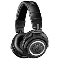 Audio-Technica ATH-M50xBT Wireless Bluetooth Over-Ear Headphones, Black, With Exceptional Clarity, Comfort, And 40 hr Battery