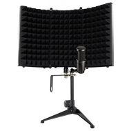 Audio-Technica Audio Technica AT2041SP AT2020+AT2021 Studio Condenser Microphones+Iso Shield
