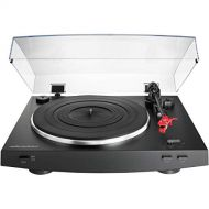 Audio-Technica AT-LP3BK Fully Automatic Belt-Drive Stereo Turntable, Black Certified Refurbished