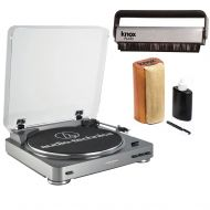 Audio-Technica AT-LP60-USB Automatic USB Turntable with Knox Cleaning Kit and Brush