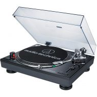 Audio-Technica Black USB DJ Turntable with ATN95E Stylus AT-LP120BK-USB