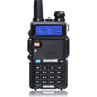 BaoFeng Baofeng UV-5R Upgrade Version Dual Band Two-Way Radio 136-174MHz VHF 400-520MHz UHF w 3800mAh Battery Handheld Transceiver (Blue)