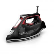 BY--BLACK+DECKER Professional Steam Iron, Impact Advanced Stainless Steel Ironing Steam