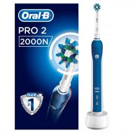 Bathroom Accessories Oral B Oral-B Pro 2000 Crossaction Electric Rechargeable Toothbrush Powered