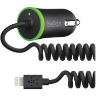 Belkin, BLKF8J074BTBLK, Lightning Cable Car Charger, 1