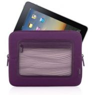 Belkin F8N275tt128-APL Vue Sleeve for iPad2 and iPad - Perfect Plum/Violet