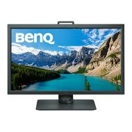 BenQ 31.5 inch 4K Photographer Monitor (SW320), 3840x2160 UHD, HDR, 99% AdobeRGB, 100% Rec.709, DCI-P3, HW Calibration, 14-bit 3D LUT, GamutDuo, HDMI 2.0, Hotkey Puck , 60Hz refres