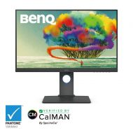 BenQ PD2500Q 25 2560x1440 IPS Monitor, 100% sRGP and Rec. 709, CADCAM Mode, Factory Calibrated