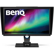 BenQ 27 inch 2K Photographer Monitor (SW2700PT), 2560x1440 QHD, 99% Adobe RGB, 100% Rec.709sRGB color space, Hardware Calibration, 14-bit 3D LUT, HDMI 1.4, OSD Controller , 60Hz r