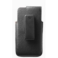 BlackBerry OEM Leather Swivel Holster for BlackBerry Z10 - Black