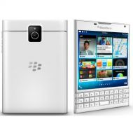 BlackBerry Passport Factory Unlocked Cellphone 4.5 32GB 13MP (White) - International Version No Warranty