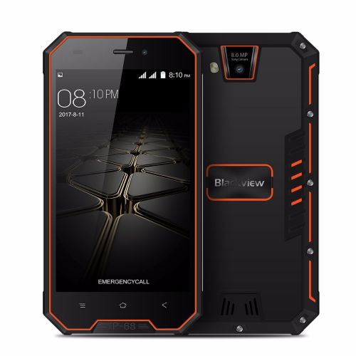 블랙뷰 [직배송][추가금없음]Blackview BV4000 Pro Smartphone IP68 Waterproof MT6580A Quad Core 4.7 Inch Android 7.0 CellPhone 2GB RAM 16GB ROM 8MP 3G Phone