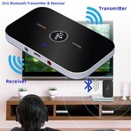 Unknown 2in1 Wireless Bluetooth Transmitter & Receiver A2DP Home Stereo TV Audio Adapter