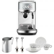 Breville BES500BSS Bambino Plus Espresso Machine, Brushed Stainless Steel Bundle