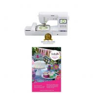 "Brother Computerized Sewing and Embroidery Machine, SE1900, Combination Sewing and Embroidery Machine with 5"" x 7"" Embroidery Field, Large Color Touch LCD Screen, 138 Built-In Desi"