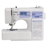 Brother Computerized Sewing and Quilting Machine, HC1850, 130 Built-in Stitches, 8 Presser Feet, Sewing Font, Wide Table, 850 Stitches Per Minute, Instructional DVD, 25-Year Limite