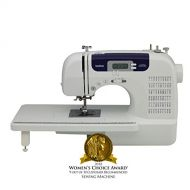 Brother Sewing and Quilting Machine, CS6000i, 60 Built-In Stitches, 7 styles of 1-Step Auto-Size Buttonholes, Wide Table, Hard Cover, LCD Display and Auto Needle Threader