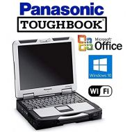 CAR Quality Panasonic Toughbook CF-31 Rugged Laptop - Win 10 PRO - Intel Core i5 2.5GHz CPU - New 256GB SSD - 8GB RAM - DVD/CD-RW