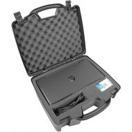 CASEMATIX Casematix Portable Printer Carry Case Designed for HP Officejet 200 Wireless Mobile Printer , HP 62 Ink Cartridge and Cables - Also fits Older HP Officejet 150 and 100
