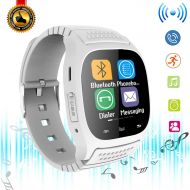 Agkey Bluetooth Smart Watch Touchscreen Smart Wrist Watch Fitness Tracker Camera Controller Phone Call Messages Reminder Smartwatch Compatible with Android Samsung Galaxy LG HTC Huawei f