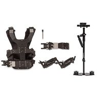 CamGear Flowcam 4000 Proking STEADYCAM with Camgear DUAL ARM VEST & Quick Release (for cameras upto 10 lbs)
